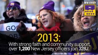 #AlwaysThere: 32BJ Security Division Timeline