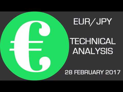 EUR/JPY Has Broken Above a Declining Trend Line —  Forecast — February 28th 2017