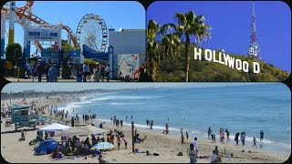 Las Vegas Vlog / Day 3 / A Day In Los Angeles (Santa Monica,Beverly Hills & Hollywood)