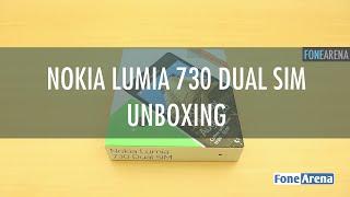 Nokia Lumia 730 Dual SIM Unboxing