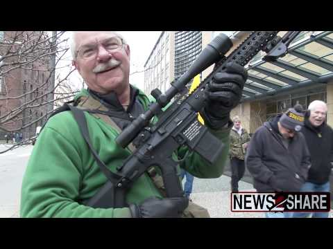 Armed Activists Protest Proposed Pittsburgh Gun Control Measures