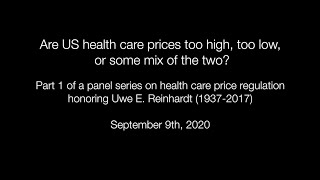 Are US health care prices too high, too low, or some mix of the two?
