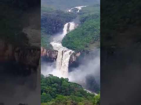 Lindo show da natureza em Alto Paraíso de Goiás