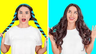 HAIR IDEAS THAT ARE SO COOL || Easy Hair Tips And DIY Tricks by 123 GO!