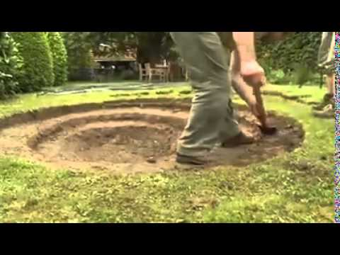 Build Your Own Pond In Your Garden!!