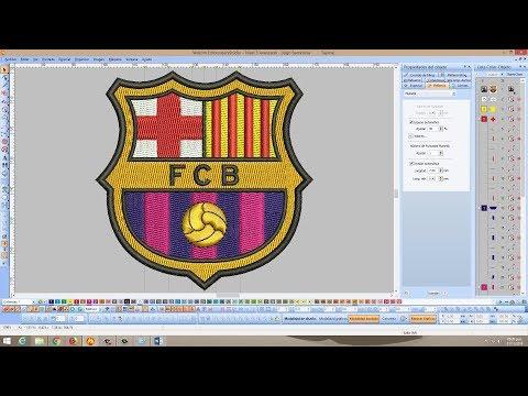 Download Embroidery Flower Design Make Wilcom E2 E3 Video 3GP Mp4