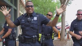 "Georgia police department joins viral lip sync battle with ""Uptown Funk"""