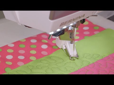 Patchwork and quilting with the B 475 QE
