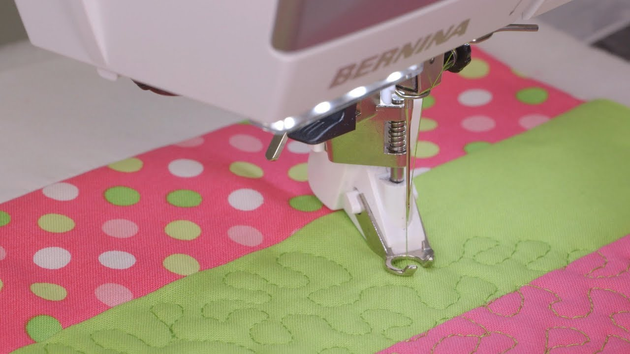 Patchwork and quilting with the B 435