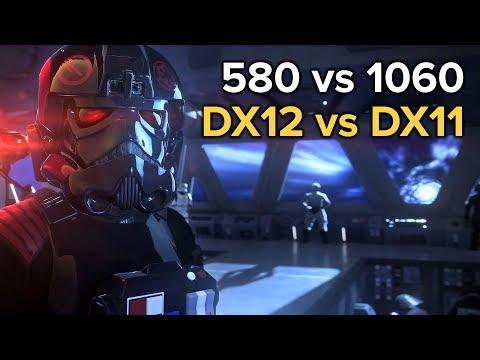 Battlefront Ii Rx 580 Vs Gtx 1060 Dx12 Vs Dx11 - 043Media us
