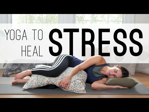 Do This Relaxing Yoga Practice When You Feel Stressed Out
