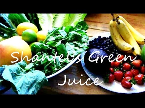 Video Cancer fighting, highly alkalizing Green juice
