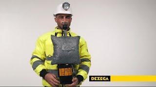 DEZEGA self-contained self-rescuer 1PVM KS youtube video
