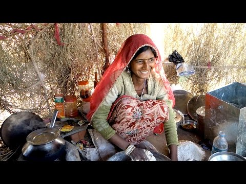 The best chapati / Authentic recipe from a gipsy village, Rajasthan desert / Indian flat brad / roti
