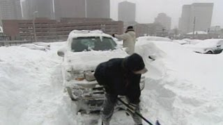 Blizzard of 2013: Record Breaking Snow Fall Cripples New England