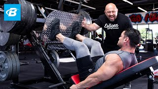 FST 7 Quads Workout With 4x Physique Olympia Jeremy Buendia & Hany Rambod   FST 7: Big And Ripped
