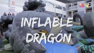 Inflable Dragón