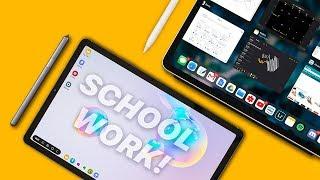 iPad Pro vs Galaxy Tab S6   ULTIMATE School Comparison!