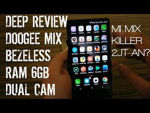 [In-Depth Review] Doogee Mix Bezeless 6Gb Ram Dual Cam Amoled Indonesia, Xiaomi Mi Mix killer?