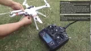 QR X350 + DEVO 7 RTF flight Operating instructions