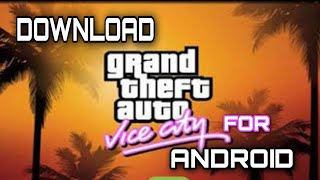 HOW TO DOWNLOAD GTA VICE CITY GAME FOR ANDROID IN TELUGU