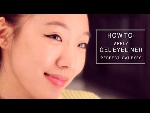 How To Apply Eyeliner For Asian Eyes & Monolids / How To Do Winged Eyeliner Tutorial 메이크업