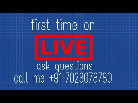 first time live question answer