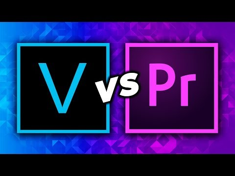 Sony Vegas VS Adobe Premiere Pro (Best Video Editor/Video Editing Software 2021)