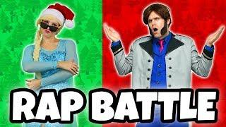 DISNEY PRINCESS RAP BATTLE. (Elsa vs Hans, Belle vs Gaston, Jasmine vs Jafar, Aurora vs Maleficent)