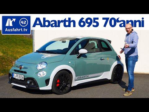 2019 Abarth 695 70´Anniversario 132kW 180PS  - Kaufberatung, Test deutsch, Review, Fahrbericht