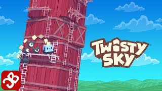 Twisty Sky - Endless Tower Climber - iOS / Android - Gameplay Video