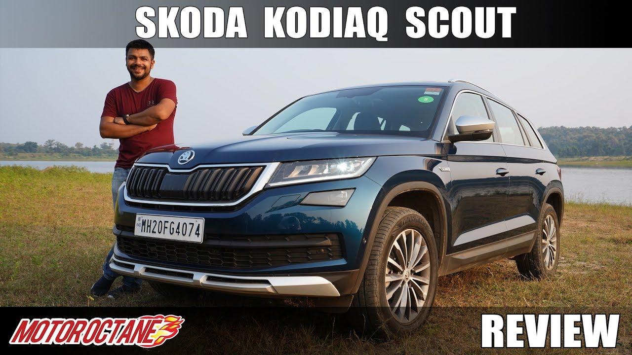 Motoroctane Youtube Video - Skoda Kodiaq Scout Review | Hindi | MotorOctane