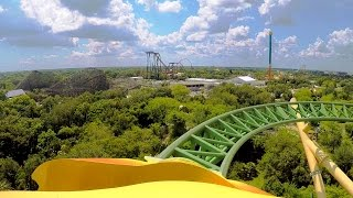 Cheetah Hunt front seat on-ride HD POV @60fps Busch Gardens Tampa