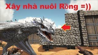 ARK: Scorched Earth #12 - Xây nhà mới cho Rồng con Baby Wyvern cạnh núi lửa =))