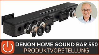 DENON HOME SOUND BAR 550 - das Topmodell - THOMAS ELECTRONIC ONLINE SHOP