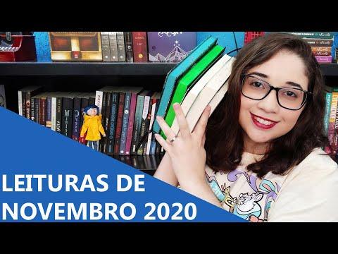 LEITURAS DE NOVEMBRO 2020 ? | Biblioteca da Rô
