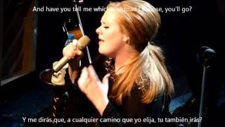 Adele - One and only subtitulado ingles español