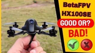 BetaFPV HX100SE Toothpick FPV Racing Drone Quick flight Review