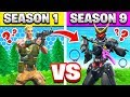 Season 1 vs Season 9 TRIVIA Challenge (Fortnite)