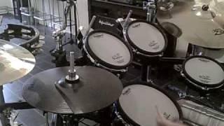 TOM PETTY - CASA DEGA  ( Drum Cover )