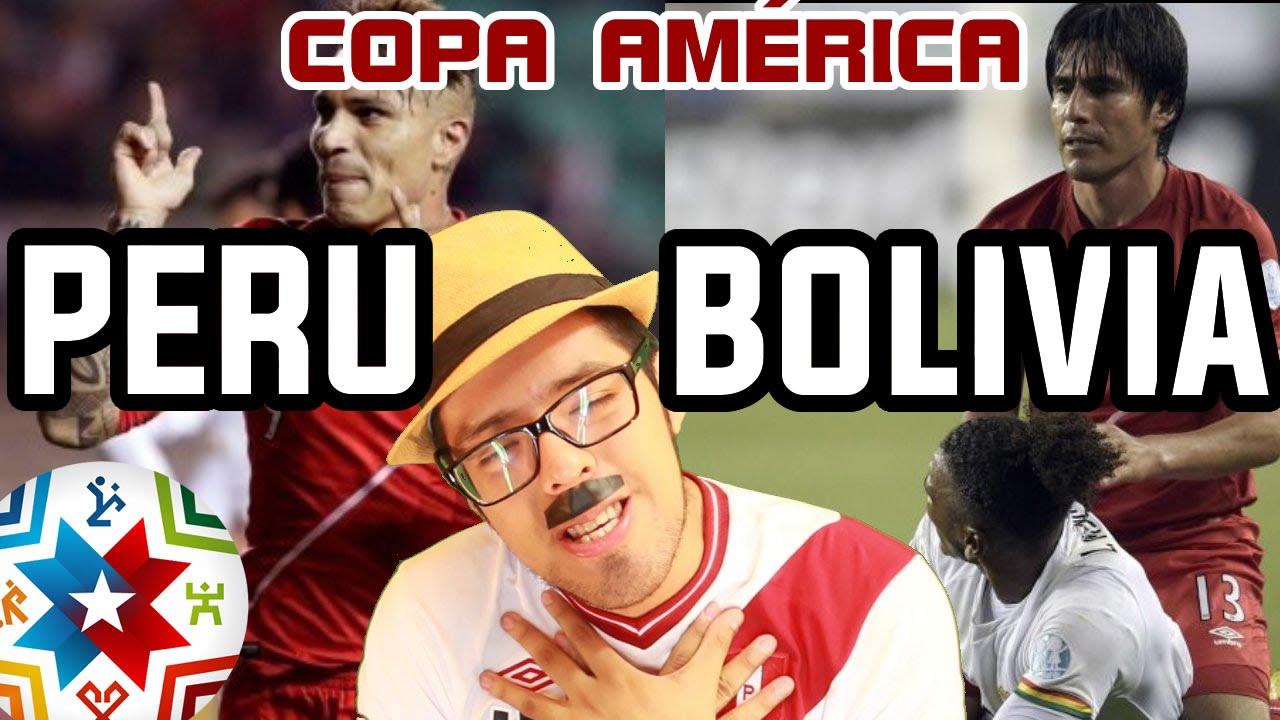 PERU GOLEA RICO vs BOLIVIA – COPA AMERICA 2015 │ @brunoacme