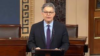 Sen. Franken remarks from Senate floor. Dec 7, 2017. Sen. Al Franken Senate address