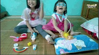 TRÒ CHƠI BÉ CHI TẬP LÀM BÁC SĨ - Bé tập làm bác sĩ nha khoa - Baby practice as a dentist ChichiTV