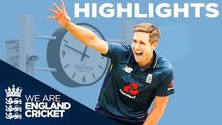 Woakes Takes 5 As England Run Rampant | England v Pakistan 5th ODI 2019 - Highlights