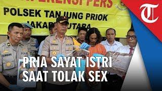 Ditolak saat Ajak Berhubungan Badan, Pria di Tanjung Priok Tega Sayat Leher Istrinya
