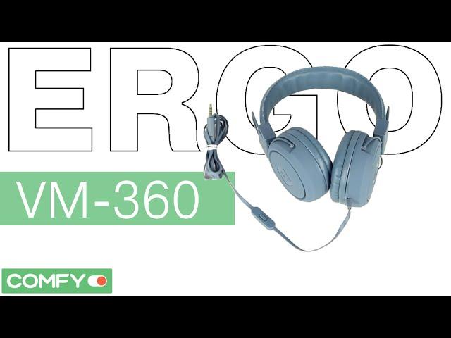 Наушники накладные Ergo VM-360 Dark Shadow купить по низкой цене в ... 6c64d57eb4c