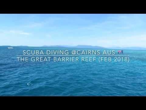 Luc's 1st Scuba Diving @ The Great Barrier Reef - Feb 2018
