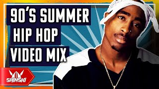 Best of 90's Hip Hop Summer Hits Clean Video Mix – Dj Shinski [2 pac, Notorious BIG, Snoop dogg]