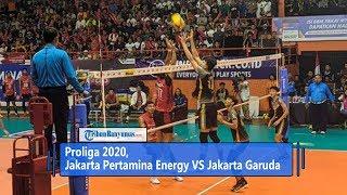 Hasil Proliga 2020, Jakarta Pertamina Energy VS Jakarta Garuda