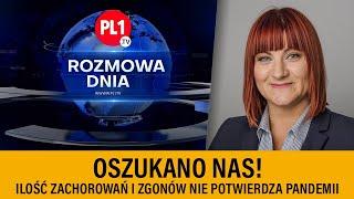 MÓJ SUBSKRYBOWANY KANAŁ – Justyna Socha – Oszukano nas! Ilość zachorowań i zgonów nie potwierdza pandemii